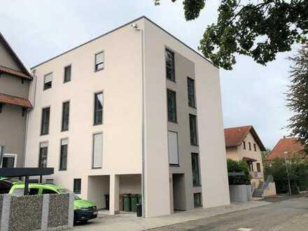 Neubau, zentrumsnahe, lichtdurchflutete Luxuswohnung in Bühl