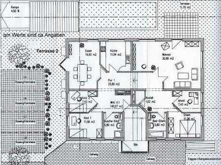 Großzügige 6-Zimmer-EG-Wohnung in Forstinning