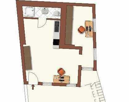 Büro/Praxis 2 Zimmer in Mitten von Bamberg (Nähe Innenstadt/Bahnhof)