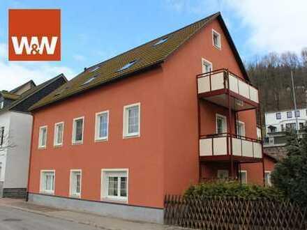 3 Raum Wohnung in Olbernhau mit Süd- Balkon zu vermieten.