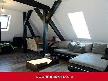 *** Gemütliche & WG geeignete 3 ZKB DG Wohnung mit Stellplatz am BHF MA-Friedrichsfeld ***