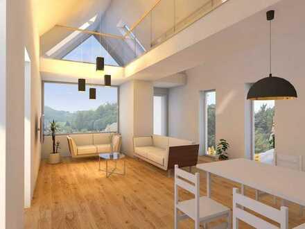 Sasbachwalden: Neubau einer außergewöhnlichen Maisonettewohnung