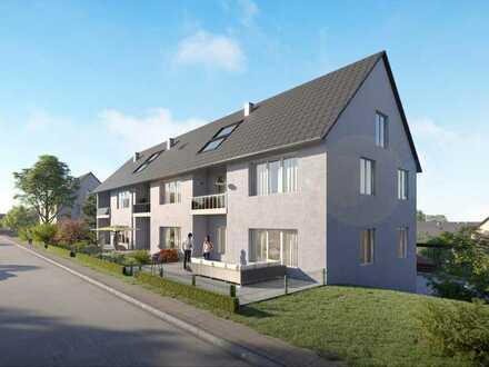 Schöne 2-Zimmer-Wohnung mit Garten und sonniger Terrasse in attraktiver Lage