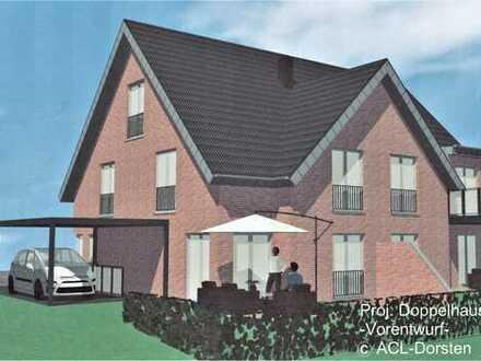 Doppelhaushälfte, projektiert, inkl. Kaufgrundstück, individuelle Lösungen mögl.