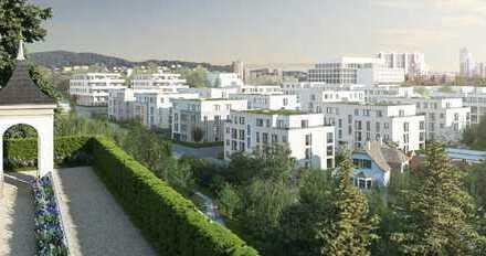 Erstbezug: exklusive 4,5-Zimmer-DG-Wohnung mit Einbauküche und Balkon in Leonberg