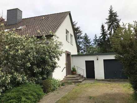Zentrumsnahes Wohnen unweit des Kreishauses in Lüchow Zwei Wohneinheiten, Garage, Werkstatt & Garten