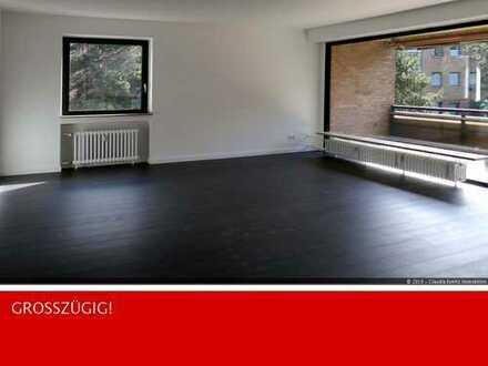 Golzheim! Großzügig Wohnen auf über 140 m²! Tiefgaragenstellplatz!