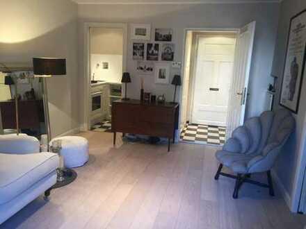 Möblierte 2-Zimmer-Wohnung. Schmuckstück in bester Lehel Lage