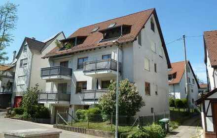 Sonnige, sehr gut aufgeteilte 3 Zimmerwohnung mit EBK und Südbalkon in ruhiger Lage