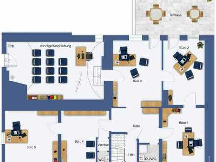 Büro-Etage, auch teilbar, in Stadtlage