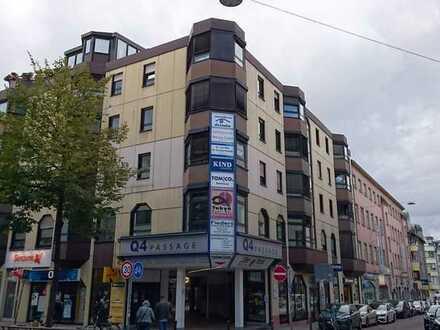 Außergewöhnliche Wohnung im Herzen Mannheims Q 4 mit 3 TG-Stellplätzen
