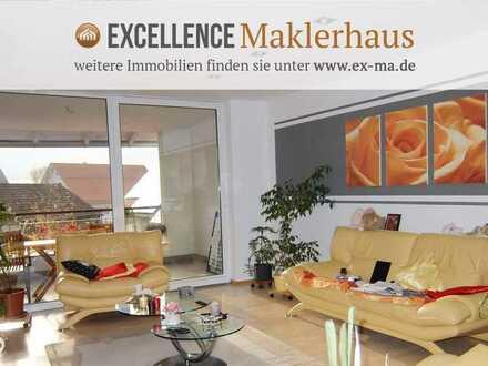 Viel Platz auf zwei Ebenen und neu renoviert - großzügige Maisonette-Wohnung nahe Memmingen!