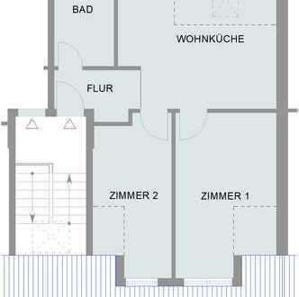 *Modernisierte Dachgeschosswohnung sucht neuen Mieter*