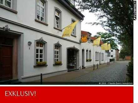 Alte Dampfmühle in Meerbusch-Osterath! Wohn- und Geschäftshaus Buch + Kunstkabinett Mönter!