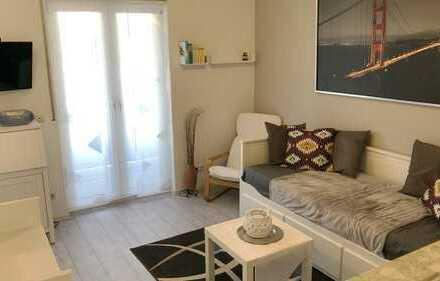 Möblierte 1-Zimmer-Wohnung mit Balkon und Einbauküche in Friedberg (Hessen)