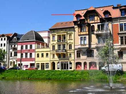 Große Lager- / Austellungsfläche mit großer Schaufensterfläche im Zentrum von Altenburg