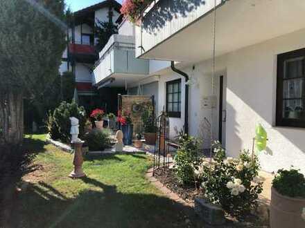 Schöne 3-Zimmerwohnung mit Terrasse und Gartenanteil