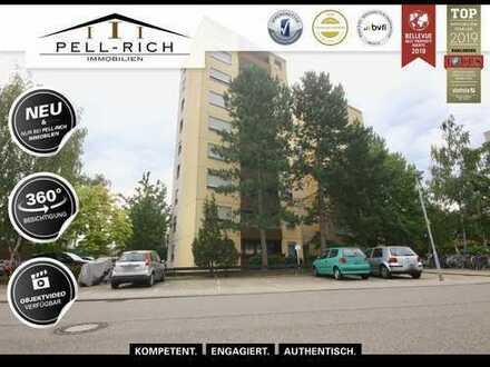 HOCH HINAUS: Eigentumswohnung mit Stellplatz und Balkon im Linkenheimer Zentrum