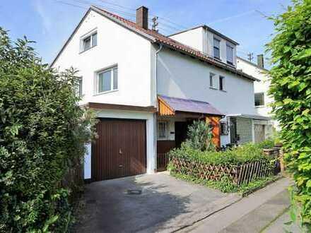 DHH m. Garage auf Eckgrundstück in Filderstadt-Bernhausen! 96 m² Wfl. EG/OG + 53 m² UG + 21 m² DG