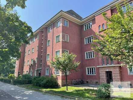 *Kapitalanlage* Denkmalgeschützte 3-Raum-Wohnung mit Balkon! Grüne Lage in Treptow-Köpenick!