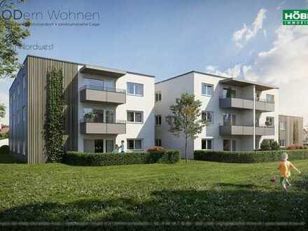 72 m² Dachwohnung • großzügiger Wohn-Ess-Bereich mit offener Küche • 3 Zimmer