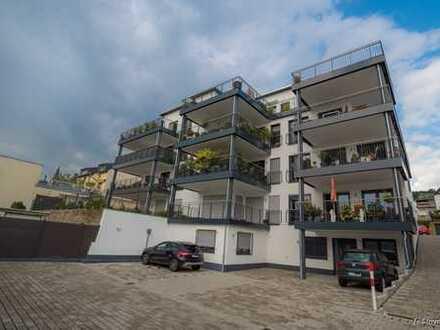 Exklusive, barrierefreie 2 Zimmer Wohnung mit riesigem Balkon in Rüdesheim - WHG 2