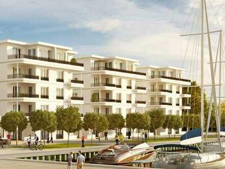 ***Individuelles Wohnambiente am Yachthafen*** 3-Zimmer-Premiumwohnung mit Dachterrasse & Balkon