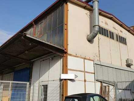 Geräumige Hallen/Produktionsfläche mit Freifläche in Backnang zu vermieten