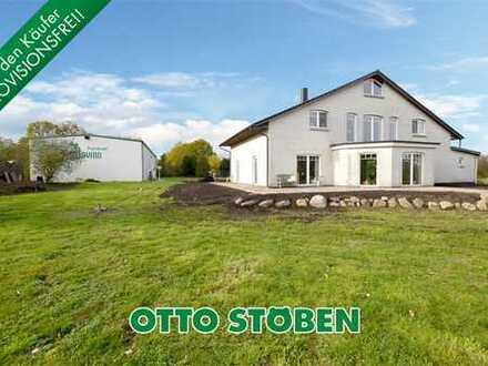 Bollingstedt bei Schleswig: Großzügiges Wohnhaus und Gewerbeimmobilie mit ELW! OTTO STÖBEN