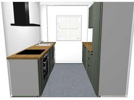 Erstbezug nach Sanierung: stilvolle 3-Zimmer-Penthouse-Wohnung mit EBK und Dachterrasse in Bremen