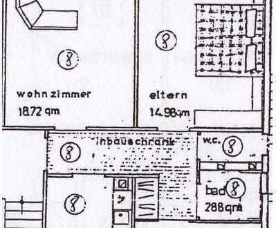 3-Zimmer-Wohnung mit Balkon in Karlsruhe - Grünwinkel