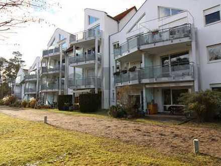 Moderne EG-Wohnung in Burgthann-Mimberg - Blick ins Grüne, schöne Terrasse, derzeit vermietet!