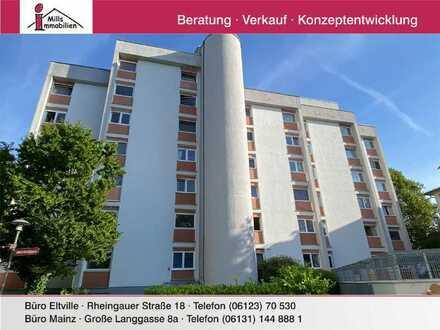 **Mitten in Mainz** Perfekt geschnittenes, gepflegtes Appartement mit Aufzug
