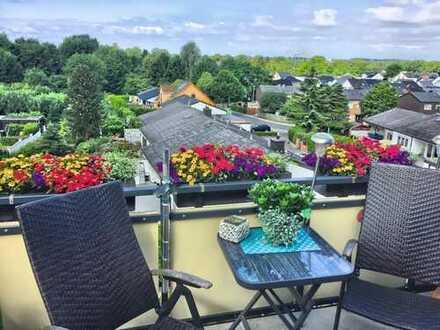 Gepflegte 3,5-Zimmer-DG-Wohnung mit Balkon in Bochum