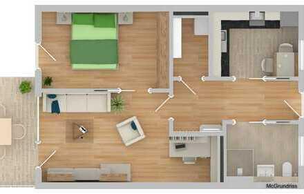 NEUBAU!!!! Betreutes Wohnen 2-Zimmer mit Terrasse (B08)