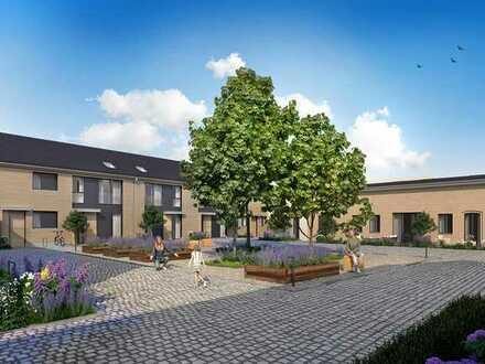"""Exklusive 2-Zi.-Garten-Maisonette auf ~134m² mit 2 Terrassen und Galerie in den """"Gustav´s Hofgärten"""""""