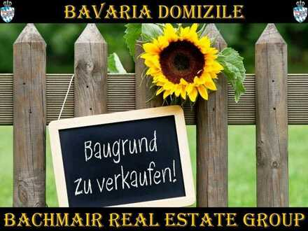 ***BAVARIA DOMIZILE: TRAUMHAFTES BAUGRUNDSTÜCK IN NEUNBURG VORM WALD***