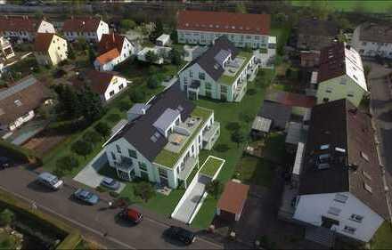 """NEUBAUPROJEKT: """"JUNGES WOHNEN""""  MFH 2: Gartenwohnung Nr. 12 2-Zimmer mit Terrasse im Erdgeschoss"""