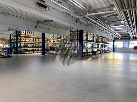 SOFORT VERFÜGBAR ✓ NÄHE BAB 3 ✓ Lager-/Produktion (2.600 m²) & optional Büro (500 m²) zu vermieten
