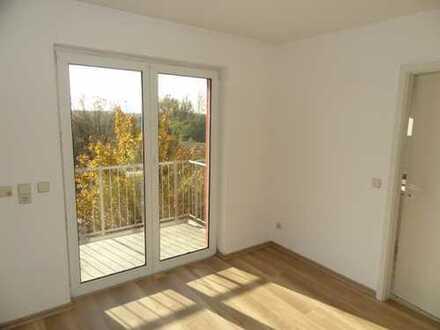 Ruhige Wohnung mit Balkon, Einbauküche und schöner Aussicht im 2. Obergeschoss!