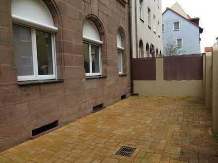 Luxuriöse 2-Zimmerwohnung in Nürnberg in der Nähe vom Wöhrder See ***Erstbezug*** und große Terrasse