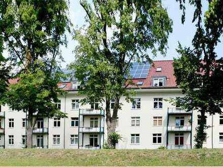 Helle 3-Raumwohnung mit 2 Abstellräumen und Balkon