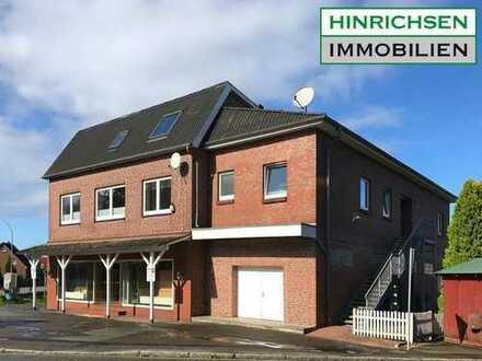 Kapitalanlage: Wohn- und Geschäftshaus mit 4 Wohnungen und großer Ladenfläche