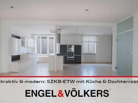 Attraktiv & modern in der Altstadt: 5ZKB-ETW mit Küche & Dachterrasse!