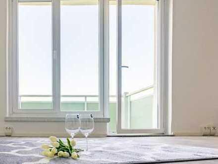Lichtdurchflutete 2-R-Whg. mit Balkon und weitreichendem Blick