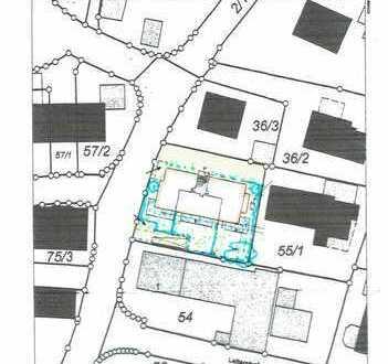 Bauplatz mit genehmigter Planung für MFH mit 8 Wohnungen 600 qm Wohnfläche