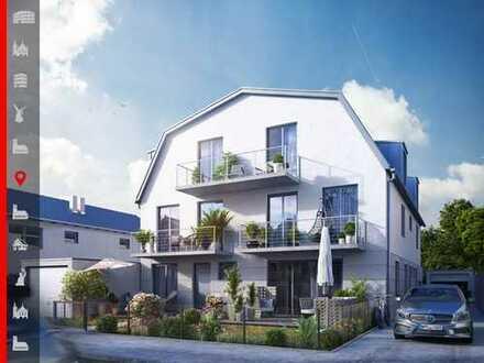 Neubaumaßnahme von 3 Stadthäusern in Niedrigenergiebauweise