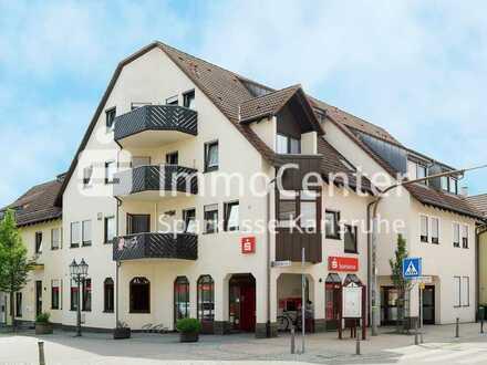 Eine interessante Investition im Herzen von Gondelsheim! Vermietete 2-Zimmer-Dachgeschosswohnung