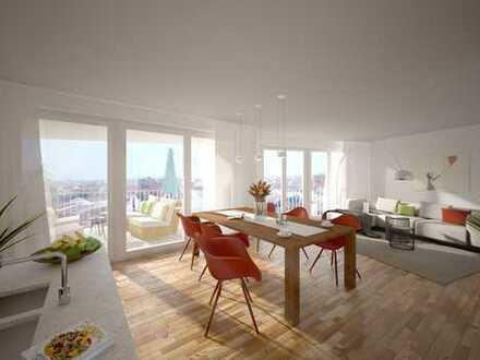 Neubauwohnung mit 3 Zimmern und einer Loggia