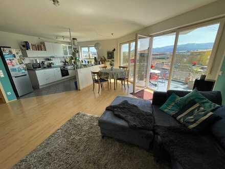 RESERVIERT Großzügige sonnige 4-Zimmer Wohnung mit toller Aussicht in begehrter Wohnlage aktuell